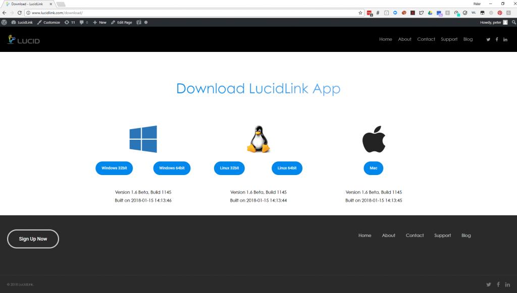 Download LucidLink App