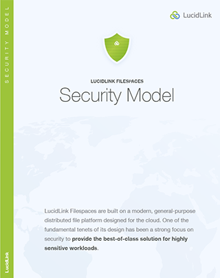 LucidLink Security Model