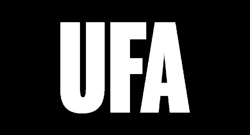 UFA white logo